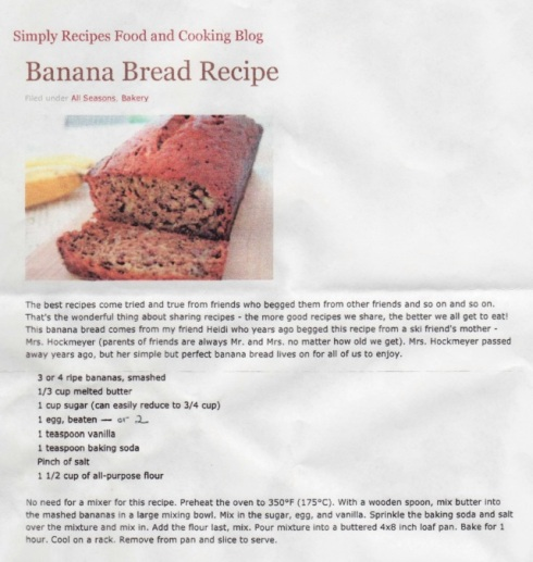 banana bread big